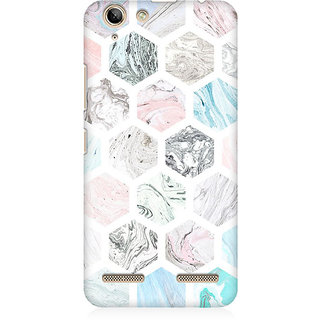 RAYITE Colourful Marble Abstract Premium Printed Mobile Back Case Cover For Lenovo K5 Plus