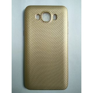 Royal Gold Luxurious Soft Silicon Back Cover for Samsung Galaxy J7 (2016)