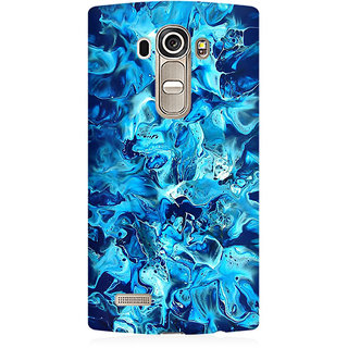 RAYITE Watercolor Abstract Premium Printed Mobile Back Case Cover For LG G4