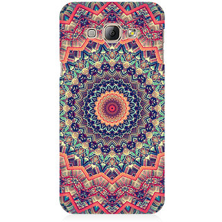 RAYITE Mandala Illusion Premium Printed Mobile Back Case Cover For Samsung A3