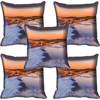 meSleep Nature Digital printed Cushion Cover (18x18) - 18CD-57-323-05