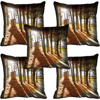 meSleep Nature Digital printed Cushion Cover (18x18) - 18CD-58-055-05