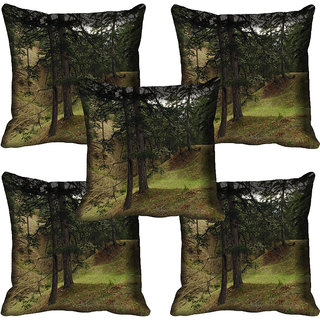 meSleep Nature Digital printed Cushion Cover (18x18) - 18CD-58-074-05