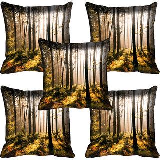 meSleep Nature Digital printed Cushion Cover (18x18) - 18CD-58-075-05