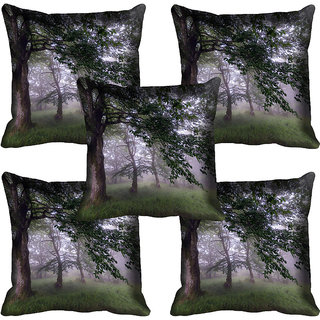 meSleep Nature Digital printed Cushion Cover (18x18) - 18CD-58-090-05