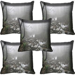 meSleep Nature Digital printed Cushion Cover (18x18) - 18CD-58-107-05