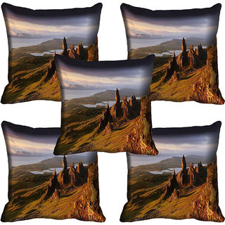meSleep Nature Digital printed Cushion Cover (18x18) - 18CD-58-112-05