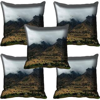 meSleep Nature Digital printed Cushion Cover (18x18) - 18CD-58-132-05