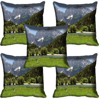 meSleep Nature Digital printed Cushion Cover (18x18) - 18CD-58-205-05