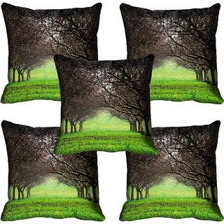 meSleep Nature Digital printed Cushion Cover (18x18) - 18CD-58-206-05