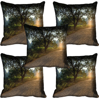 meSleep Nature Digital printed Cushion Cover (18x18) - 18CD-58-207-05