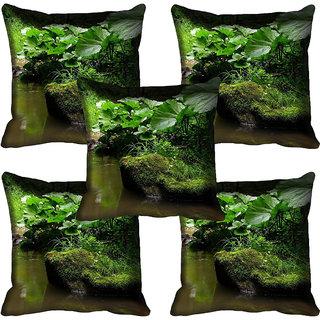 meSleep Nature Digital printed Cushion Cover (18x18) - 18CD-58-217-05