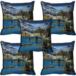 meSleep Nature Digital printed Cushion Cover (18x18) - 18CD-58-219-05