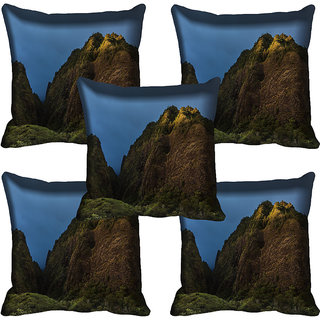 meSleep Nature Digital printed Cushion Cover (18x18) - 18CD-58-229-05