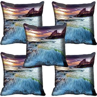 meSleep Nature Digital printed Cushion Cover (18x18) - 18CD-58-240-05