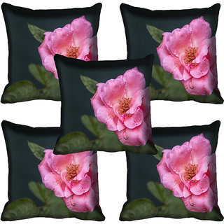 meSleep Flower Digital printed Cushion Cover (18x18) - 18CD-59-049-05