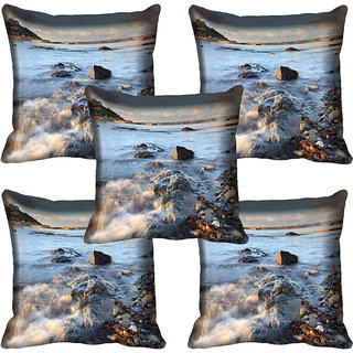 meSleep Nature Digital printed Cushion Cover (18x18) - 18CD-59-210-05