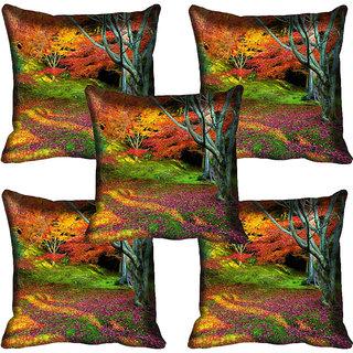 meSleep Nature Digital printed Cushion Cover (18x18) - 18CD-59-221-05