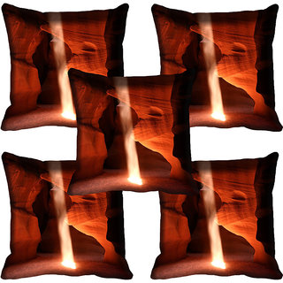 meSleep Nature Digital printed Cushion Cover (18x18) - 18CD-60-201-05