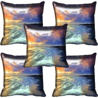 meSleep Nature Digital printed Cushion Cover (12x12) - 12CD-61-055-05