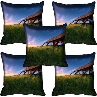 meSleep Nature Digital printed Cushion Cover (12x12) - 12CD-61-069-05