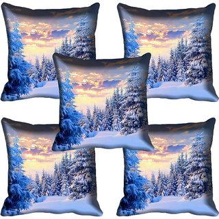 meSleep Nature Digital printed Cushion Cover (12x12) - 12CD-61-080-05
