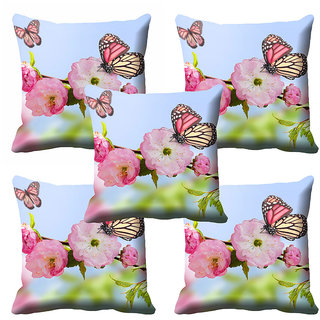 meSleep Multi Colour Nature Cushion Cover (12x12) - 12CD-92-171-S5