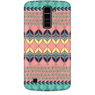 RAYITE Beautiful Aztec  Premium Printed Mobile Back Case Cover For LG K10