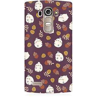RAYITE Cute Toon Premium Printed Mobile Back Case Cover For LG G4