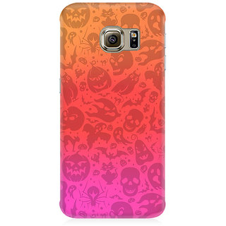 RAYITE Watercolor Ghost Pattern Premium Printed Mobile Back Case Cover For Samsung Note 5 Edge