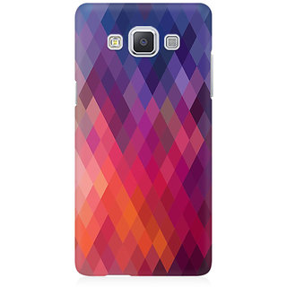 RAYITE Colourful Aztec Premium Printed Mobile Back Case Cover For Samsung A5