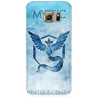 RAYITE Mystic Winter Is Coming Premium Printed Mobile Back Case Cover For Samsung Note 5 Edge