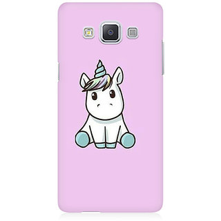 RAYITE Cute Unicorn Premium Printed Mobile Back Case Cover For Samsung A5