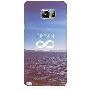 RAYITE Dream Premium Printed Mobile Back Case Cover For Samsung Note 5