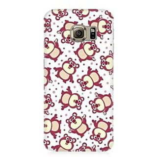 RAYITE Cute Pandas Pattern Premium Printed Mobile Back Case Cover For Samsung Note 7