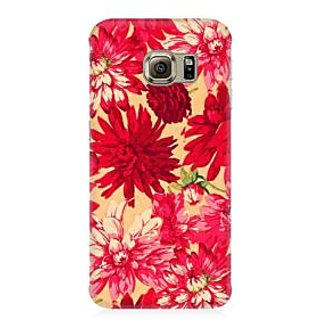 RAYITE Vintage Flowers Premium Printed Mobile Back Case Cover For Samsung Note 7