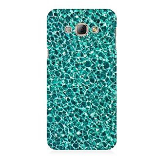RAYITE Water Glitter Print Premium Printed Mobile Back Case Cover For Samsung A3