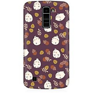 RAYITE Cute Toon Premium Printed Mobile Back Case Cover For LG K10