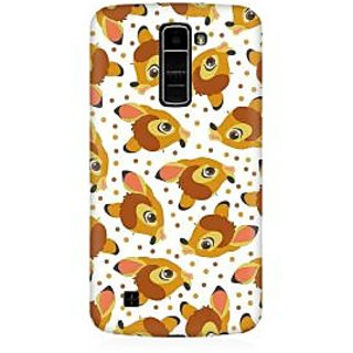 RAYITE Deer Pattern Premium Printed Mobile Back Case Cover For LG K7