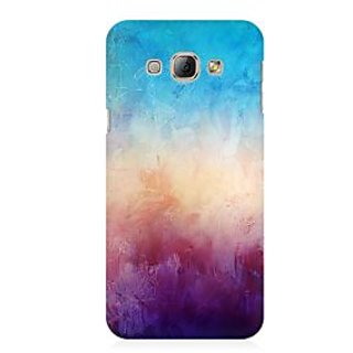 RAYITE Colourful Wall Premium Printed Mobile Back Case Cover For Samsung A3