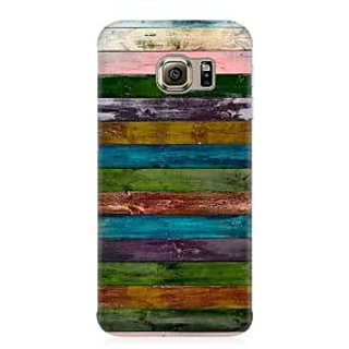 RAYITE Vintage Wood Premium Printed Mobile Back Case Cover For Samsung Note 7