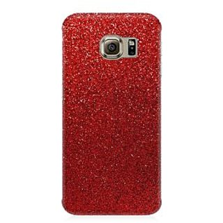 RAYITE Red Glitter Print Premium Printed Mobile Back Case Cover For Samsung Note 7