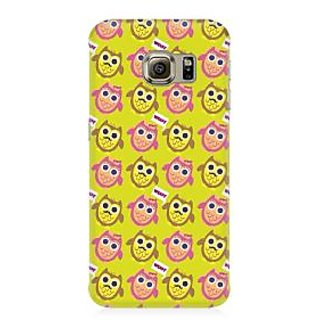 RAYITE Hoot Owl Pattern Premium Printed Mobile Back Case Cover For Samsung Note 5 Edge