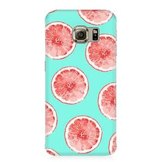 RAYITE Citrus Pattern Premium Printed Mobile Back Case Cover For Samsung Note 5 Edge