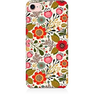 RAYITE Cute Flower Premium Printed Mobile Back Case Cover For Apple IPhone 7