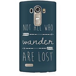 RAYITE Wander Lost Premium Printed Mobile Back Case Cover For LG G4