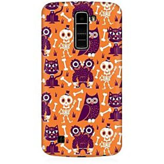RAYITE Funny Monster Premium Printed Mobile Back Case Cover For LG K10