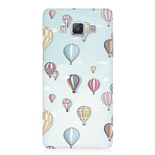 RAYITE Balloon Abstract Premium Printed Mobile Back Case Cover For Samsung A5