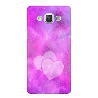 RAYITE Galaxy Heart Premium Printed Mobile Back Case Cover For Samsung A5