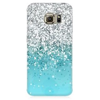 RAYITE Glitter Print Pattern Premium Printed Mobile Back Case Cover For Samsung Note 5 Edge